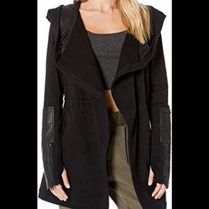 Blanc Noir Drape Front Jacket XS